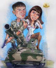 Вместе на танке