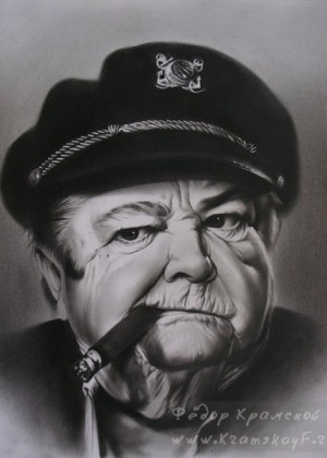 Портрет Уинстон Черчилля