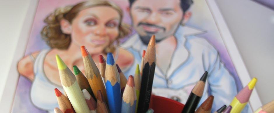 Взгляд на шарж сквозь карандаши
