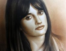 Портрет актрисы Пенелопы Крус