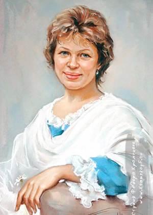 Заказать портрет пастелью в Казани