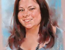 Женский портрет на заказ